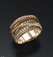 טבעת יהלומים יוקרתית ומהממת - בלינדה
