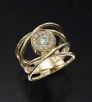 טבעת אירוסין גדולה- דוריס