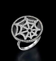 טבעת יהלומים מדהימה ומיוחדת - ספיידר