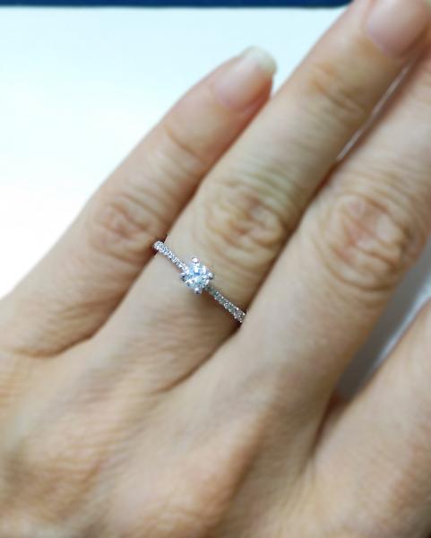 עיצובים של דיימונד ספינקס - טבעת אירוסין קלאסית